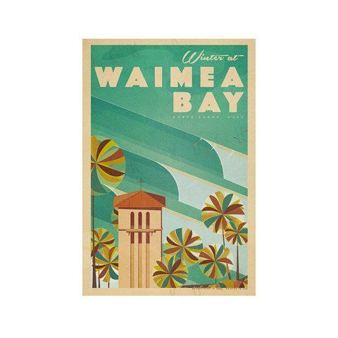 Everything Is Jake! Waimea Bay Poster