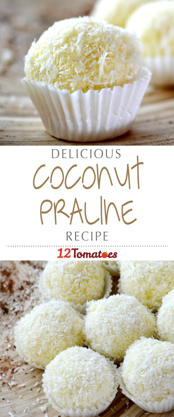 Coconut Pralines | Don't think of the standard pecan-based pralines when viewing this recipe. Instead, these are fluffy, sweet candies that combine sugar and coconut to heavenly effect.