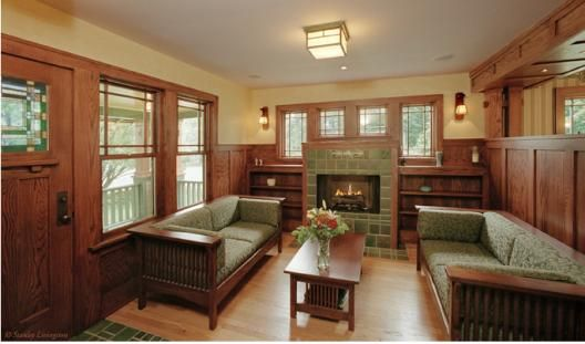 32 Best Images About Craftsman Interiors On Pinterest