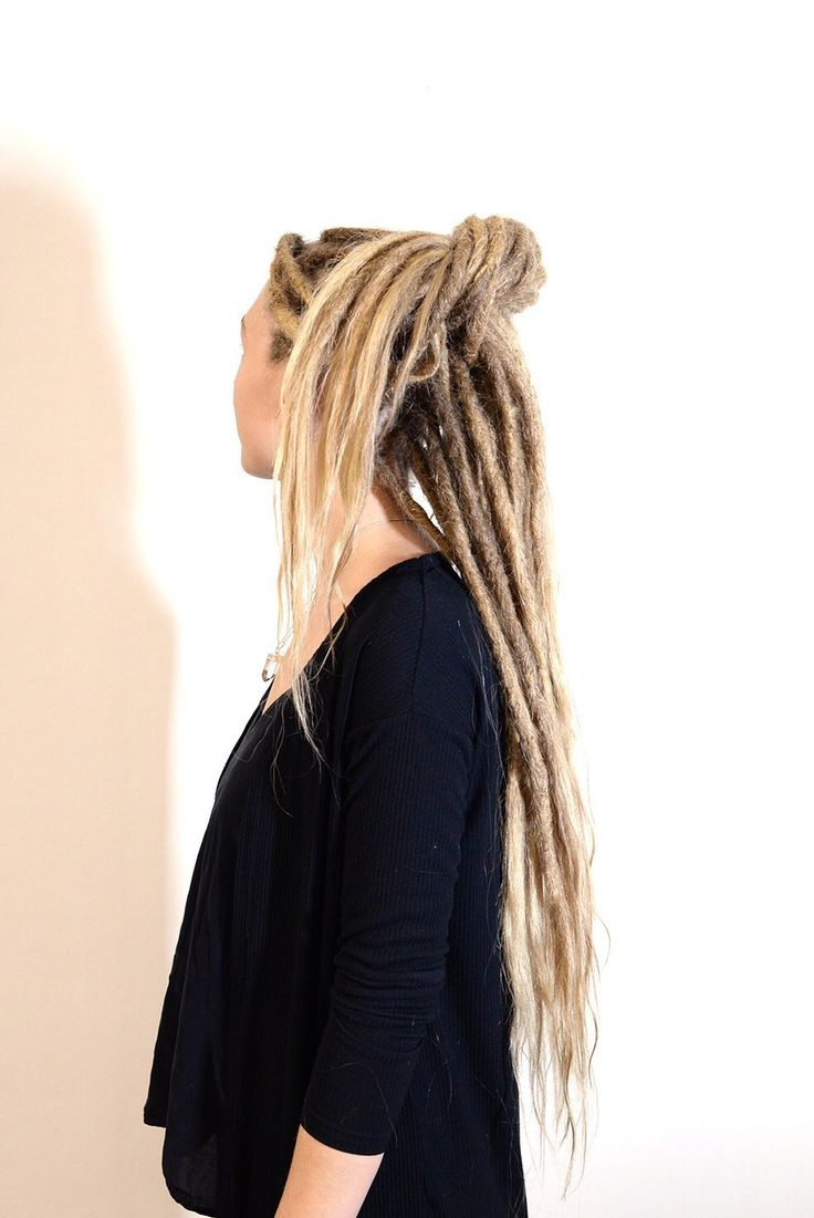 An easy dreadlock updo that you can do under one minute with your dreadlocks! Do you want to learn how to do this one. Visit our youtube channel and learn how to do this one today!