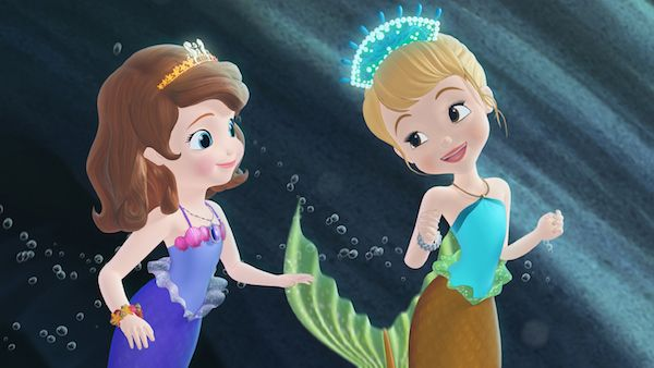 Sofia and Oona mermaids