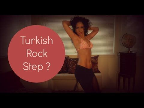 Learn to belly dance: the Turkish rock step ~ Free belly dance classes online