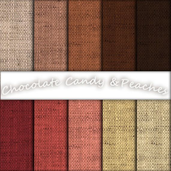 Chocolate Candy & Peaches by edesigndotcom on Etsy, €3.40