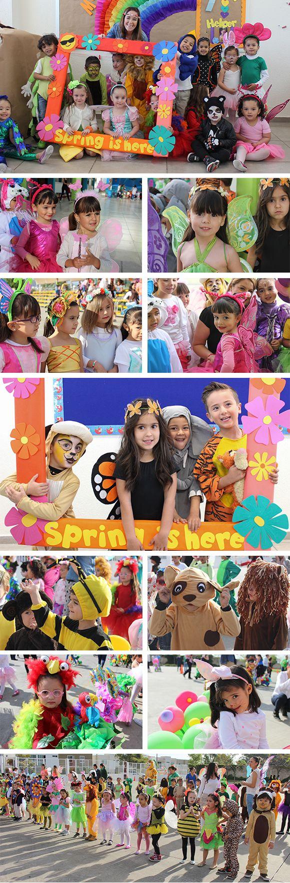 Disfraces de primavera