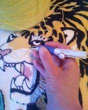 刺繍ステッチ針パンチパンチクラフトツールキット2通しスリーサイズのLT01117(中国(本土))