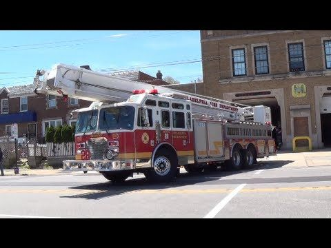 Engine 71 and Snorkel 28 Responding. - YouTube