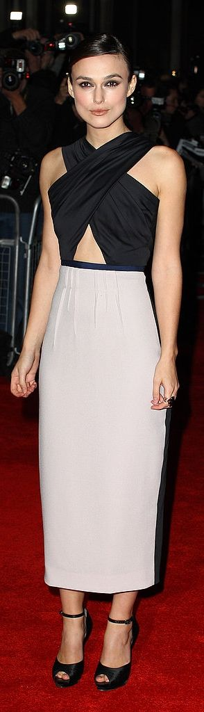 Will Keira Knightley sport a crop top as a mama-to-be?!