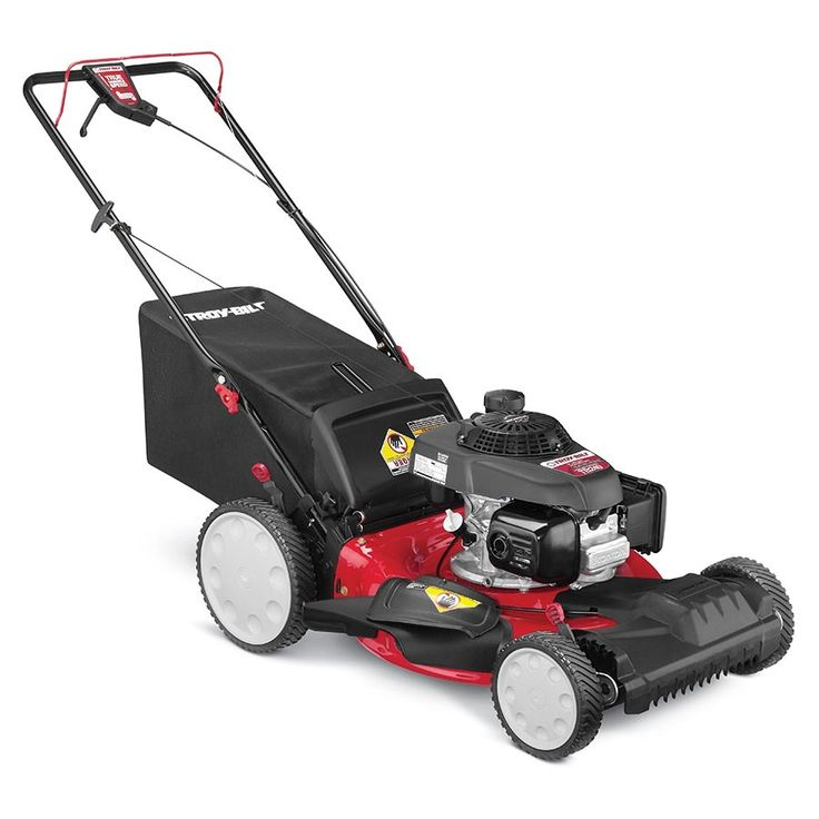 Troy-Bilt TB240 160cc 21-in Self-Propelled Front Wheel Drive Residential Gas Lawn Mower with Mulching Capability