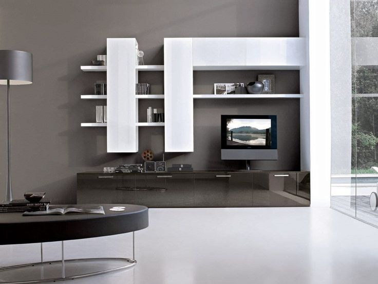 built in wall desk units - Google Search