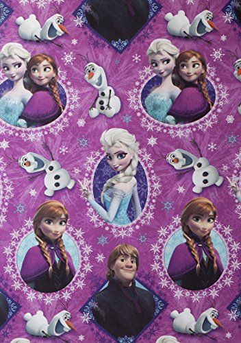Disney Frozen Christmas Gift Wrap Wrapping Paper (1 Roll, 70 Sq. Ft.) Disney Frozen http://www.amazon.com/dp/B00OLD6FUQ/ref=cm_sw_r_pi_dp_nrtuub1TBAEE8