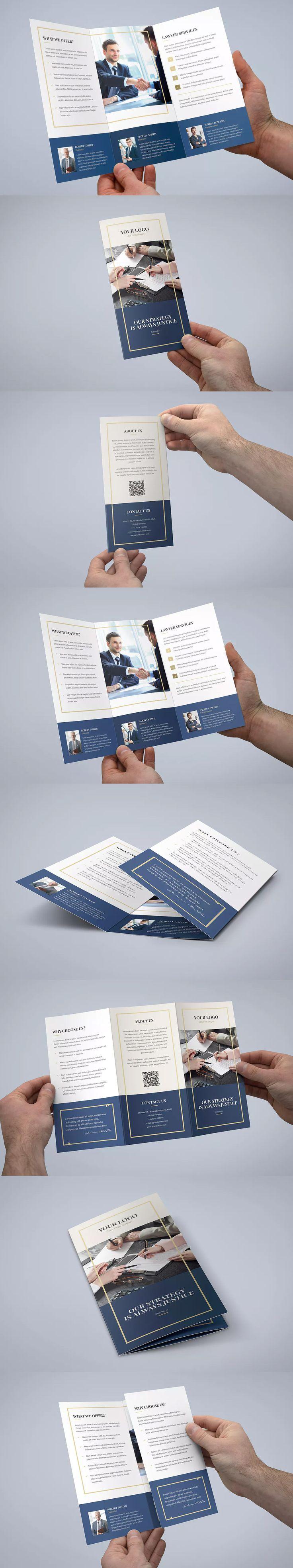 Best Brochure Design Templates Images On Pinterest Brochure - Law firm brochure template