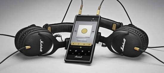 Marshall Unveils The Ultimate Smartphone For Audiophiles