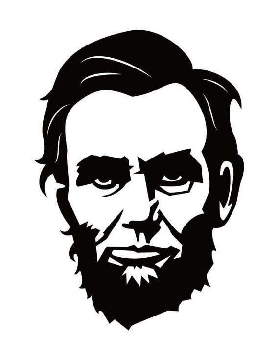 33+ Abraham lincoln clipart black and white ideas