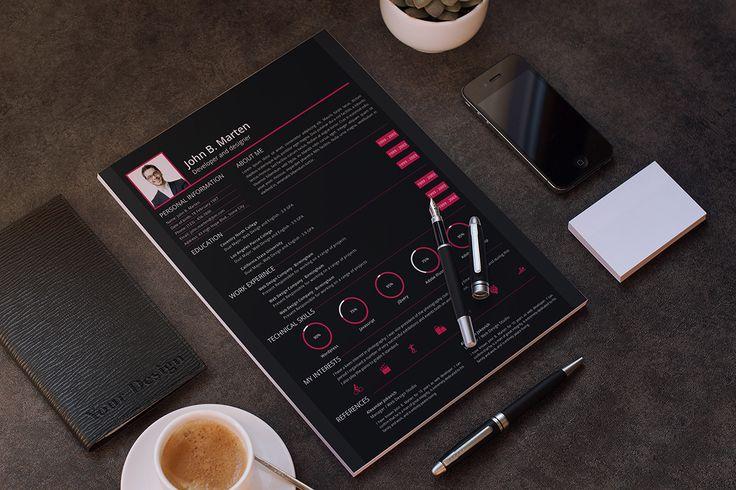 Features 3 Different pages ( Resume, Portfolio, Cover Letter - portfolio cover letter