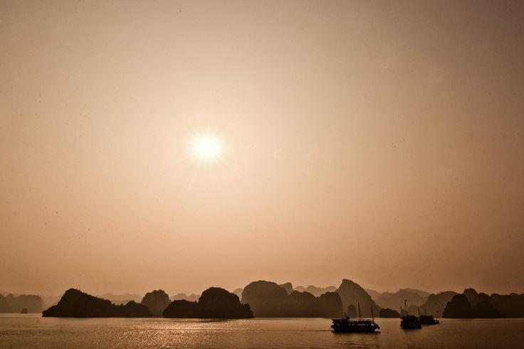 Ha Long Bay - Sunset - Vietnam