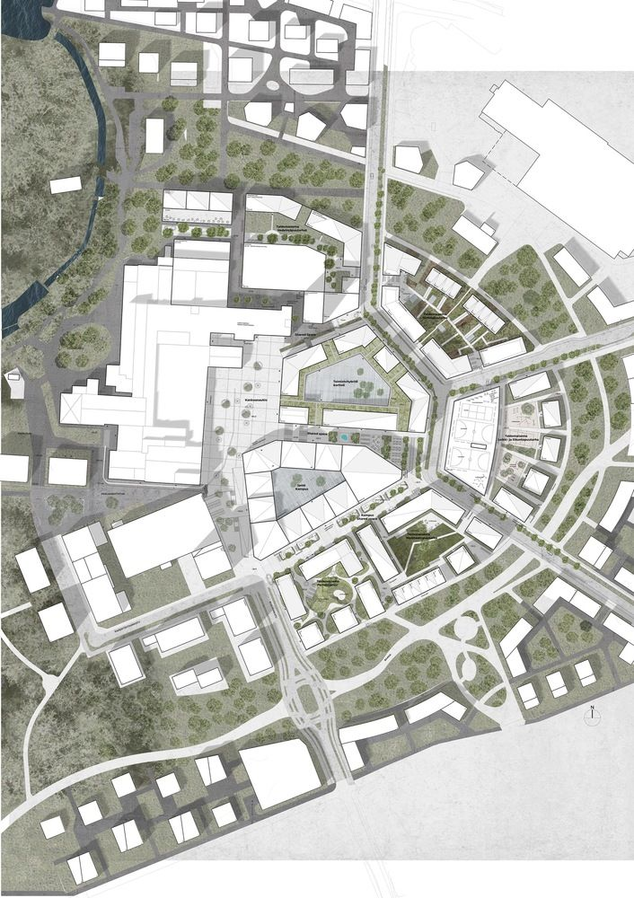 "Gallery of Schauman & Nordgren Architects Wins Competition for ""City of Gardens"" Masterplan in Finland - 9"