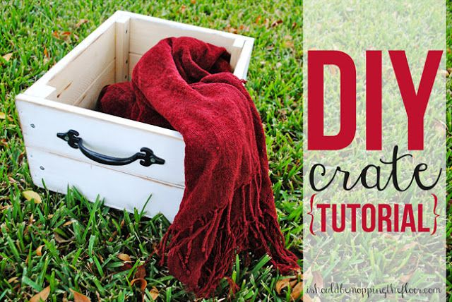 DIY Crate tutorial