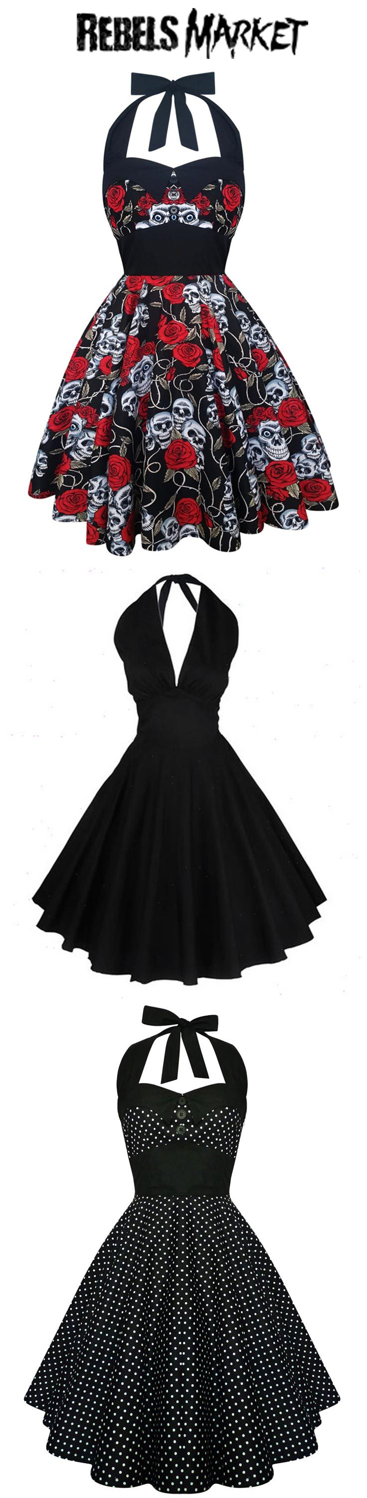 Shop women's rockabilly dresses at RebelsMarket!