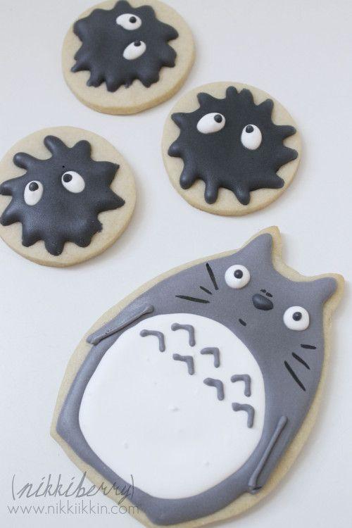 De aquí las galletas de Soot Sprites