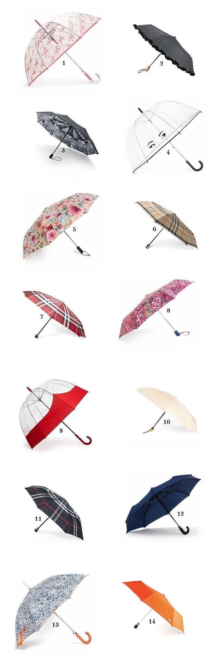 April Showers Chic! This season's best umbrellas