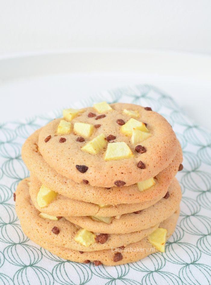 Appel-kaneel eierkoeken - Laura's Bakery