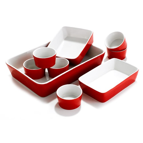 9 Piece Oven To Table Bakeware Set