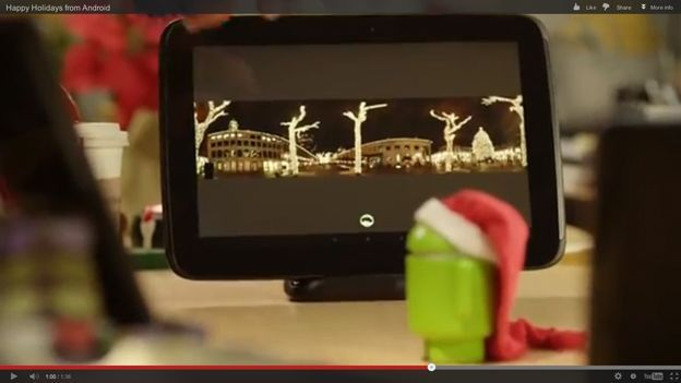 Unannounced Google Nexus 10 dock appears in festive Android video | Google looks certain to launch a dock connector for its Nexus 10 after the accessory appeared in a festive video. Buying advice from the leading technology site
