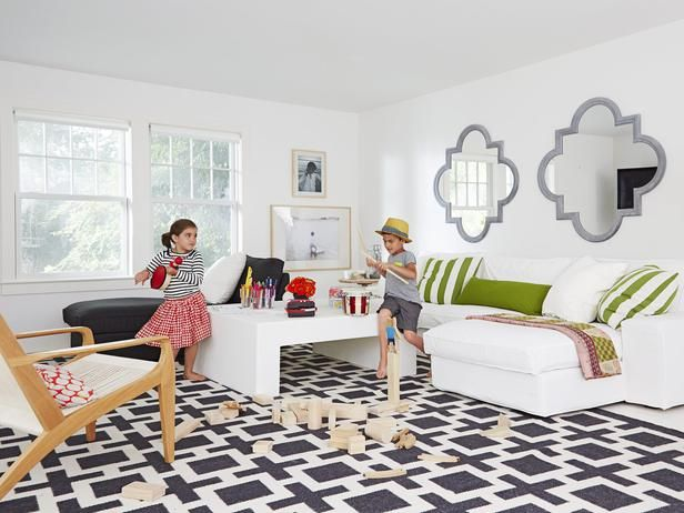 The playroom of everyone's dreams #hgtvmagazine http://www.hgtv.com/decorating-basics/decorated-by-mom-with-love/pictures/page-6.html?soc=pinterest: Design Inspiration, Mom Decorates, Dreams Hgtvmagazine, Floor, Love Pictures, Colorful Playrooms, Family Room