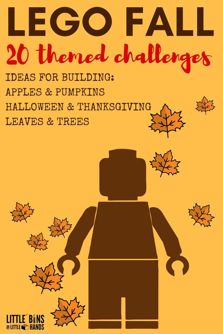 When the air gets crisp, the leaves change color, and we head indoors make sure to save these Fall LEGO Building Ideas for the kids. LEGO is awesome and provides not only hours of neat creative and imaginative play bit also numerous opportunities for learning. Did you even know that LEGO bricks are awesome for...Read More »