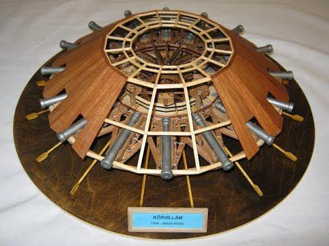 Makett Leonardo da Vinci modell harci szekér 2. makett, model, modello, ...