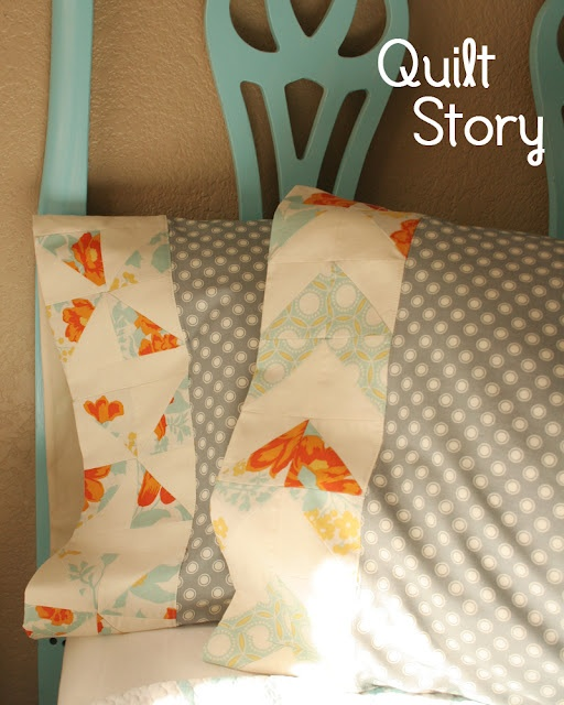 Someday I will make my own pillowcases ......