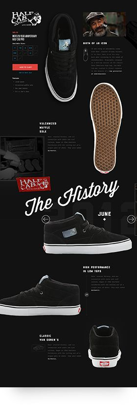 Vans. Half Cab. (More design inspiration at www.aldenchong.com)