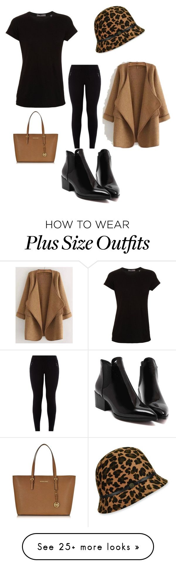 """Untitled #330"" by stylemirror on Polyvore featuring Karen Kane, WithChic, Vince and Michael Kors"