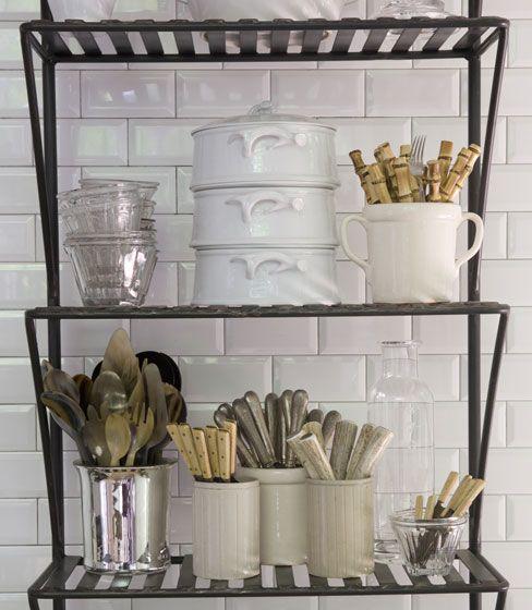 kitchen...Interior Design, Kitchens Design, Mike Hammersmith, Ideas Kitchens, Design Ideas, Interiors Design Kitchens, Living Room Design, Metals Shelves, Subway Tiles
