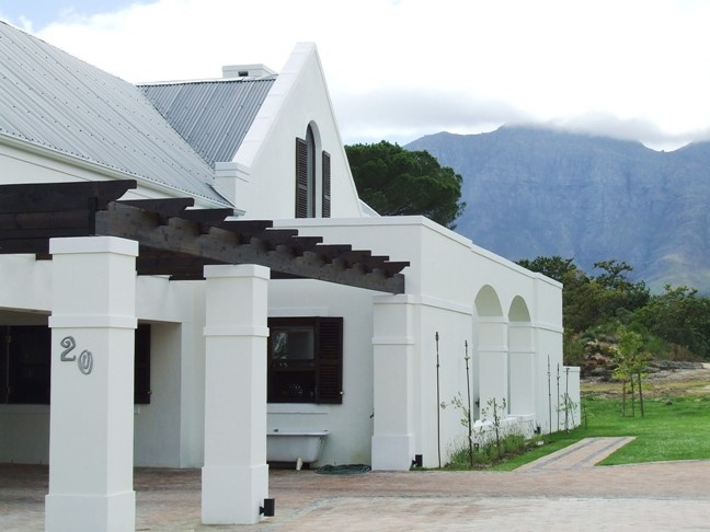 Modern Cape Dutch Dutch House African House Architecture