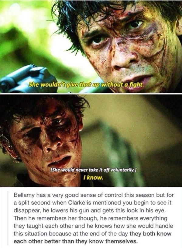 Bellamy Blake | Bellarke ♥♥♥ | The 100 Season 2  | twitter