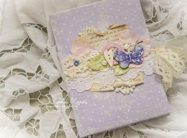 блокнот, скрапбукинг, скрап, шебби, прованс, блокнот своими руками, подарок своими руками, Fleur Design, Mr Painter