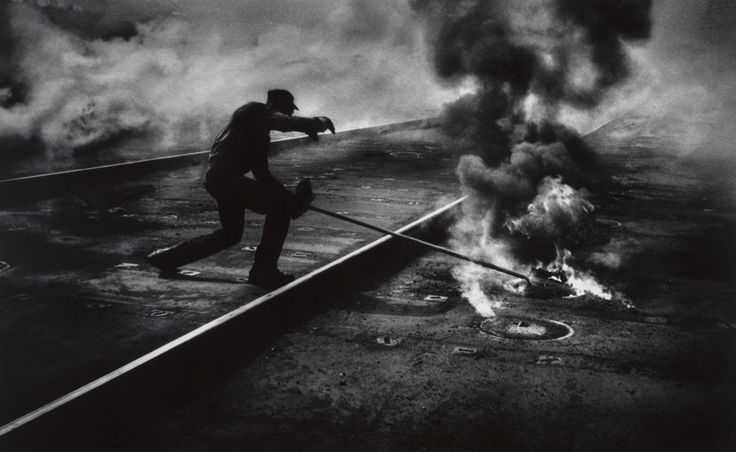 W. Eugene Smith. 'Dance of the Flaming Coke' 1955