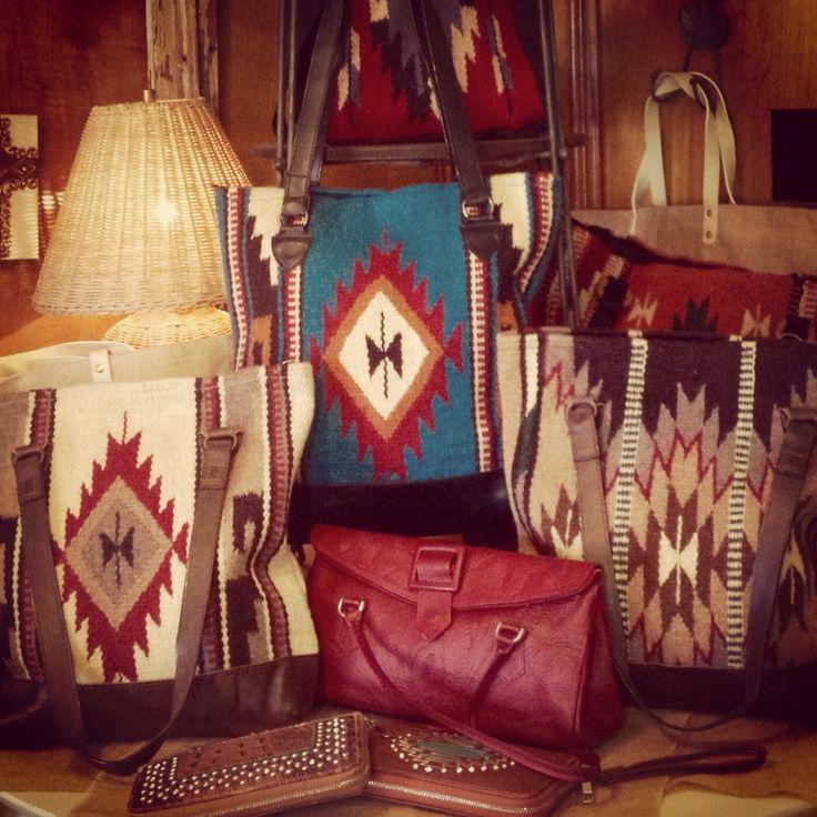 Navajo Style Saddle Blanket Purses At Nest Vintage Www