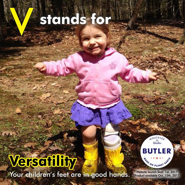 Our boots accommodate most orthotics and prosthetics, too! Isn't that wonderful?