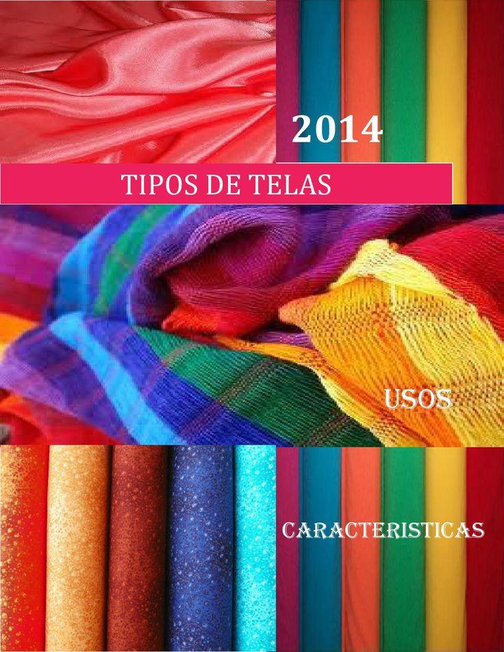 Revista de tipos de telas lida suquillo  Esta Revista se trata de todo tipo de telas para la confección de vestimentas.