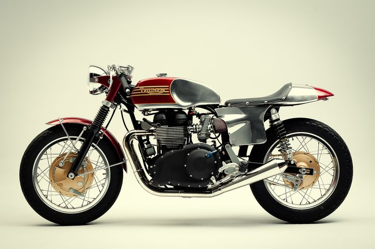 Triumph - I particularly like the paint job on the rear fender