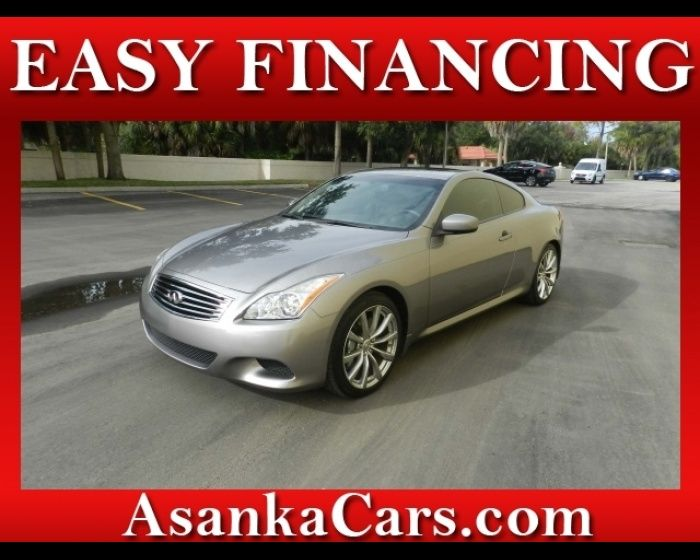 2008 INFINITI G37 G 37 COUPE EASY FINANCING FOR ALL CREDIT, http://www.localautos.co/for-sale-used-2008-infiniti-g37-g-37-coupe-sarasota-florida_vid_503107.html