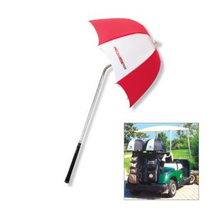 The Drizzlestik® Flex Umbrella. Don't let rain ruin your game! The ultimate wet weather golf club protection! Patented inner liner - provides protection between valuable golf clubs and umbrella frame Opens in seconds allowing quick and easy access to all golf clubs Telescopic shaft with spring feature Extra deep canopy - Offers exceptional protection even in driving rain!