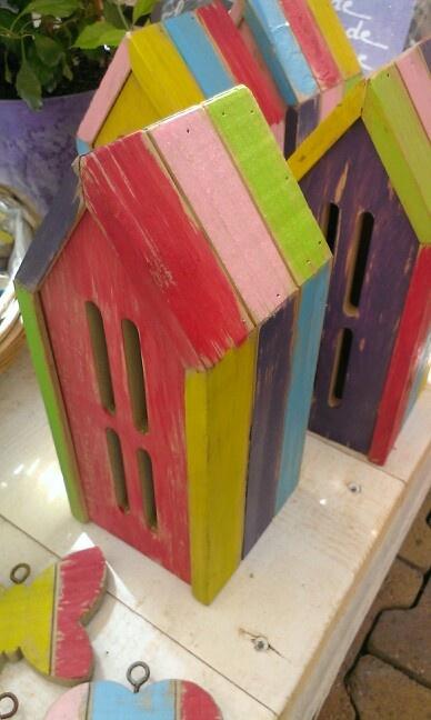 Kleurrijk vlinderhuis
