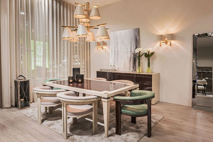 The dining place is the place where we all gather to share our moments of the day, laughs. With our elegant collection, you can create the place that you desire to have. And all of this can be found in our showroom!  For more, visit our website: ☛ stylishclub.pt