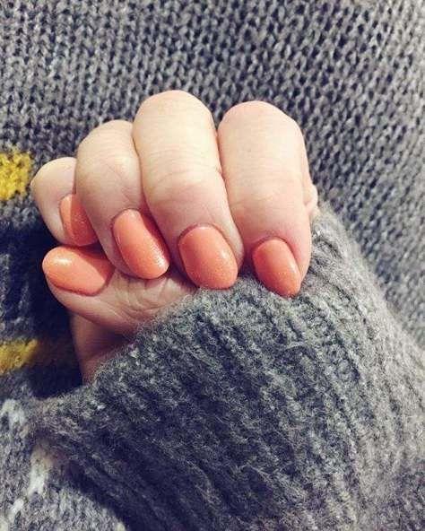 best style Peach Nail Art Designs 2017 Trends - Styles Art