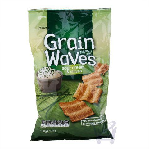 Multigrain Chips - Grainwaves Sour Cream & Chives - 150g | Shop New Zealand NZ$ 7.9