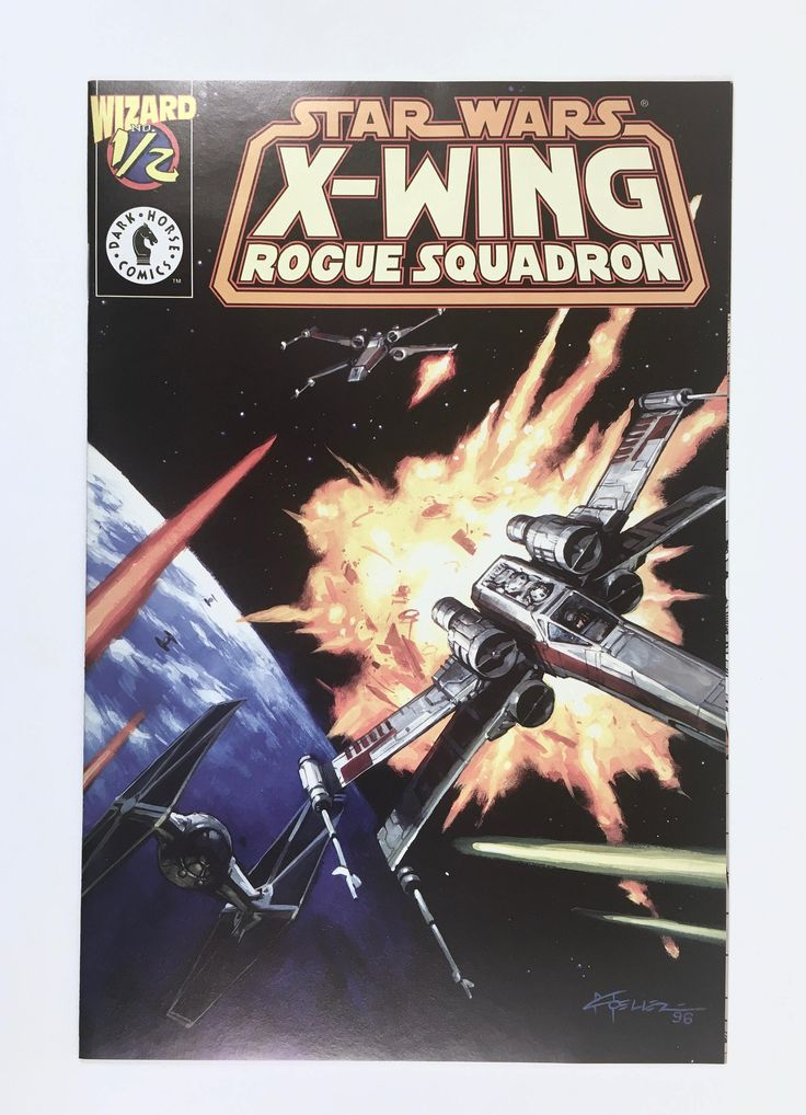 Star Wars X-Wing Comic, Rogue Squadron #1/2, Dark Horse Comics Limited Edition, Wizard Certificate of Authenticity, Protective Holder, Mint by BarnabyGlenVintage on Etsy