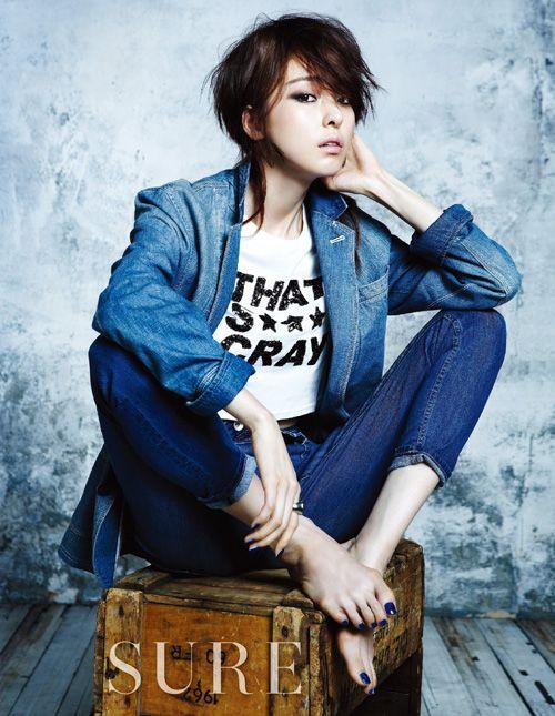 Lee Da-hee // Sure Korea // August 2013